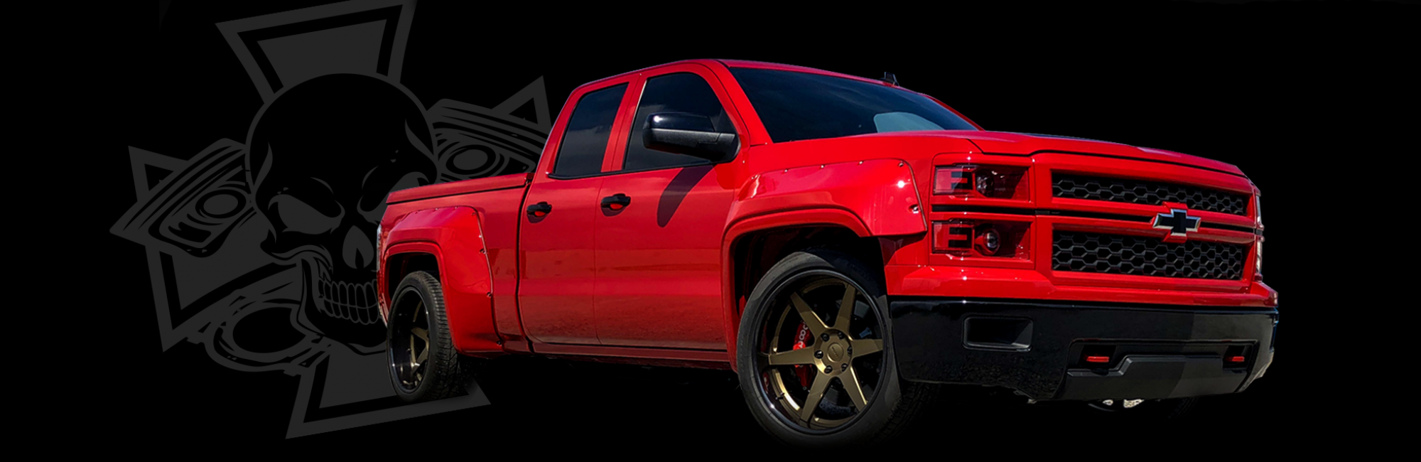 2014 Silverado Lowered Widebody Forgeline Compcams