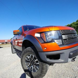 Ford Raptor Wrap