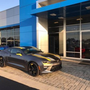 Voss Chevrolet Camaro Oracle Color Change DRL Black and Yellow SS Custom