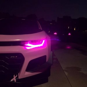 Breast cancer awareness, ZL1 1LE, Pink Car, Hot Pink, Custom Camaro, Track Car,